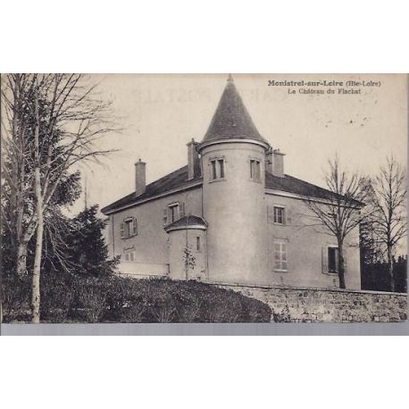 Carte postale 43 - Monistrol - Le chateau du Flachat