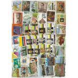 Colección de sellos Colombia usados