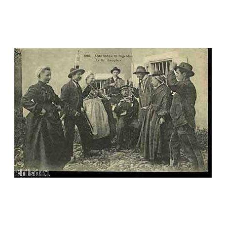 43 - Une scene villageoise - Le bal champetre