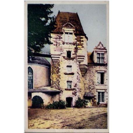 Carte postale 44 - Ancenis - Le chateau - Pavillon Francois Ier - Voyage - Dos divise
