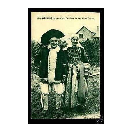 Carte postale 44 - Guerande - Paludiers du bon vieux temps