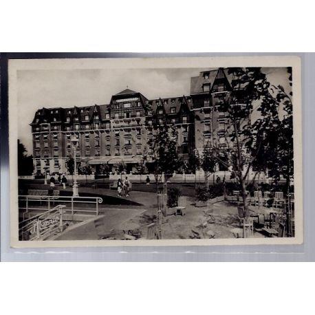 Carte postale 44 - La Baule-sur-Mer - Le Grand Hotel l' Hermitage - Voyage - Dos divise...
