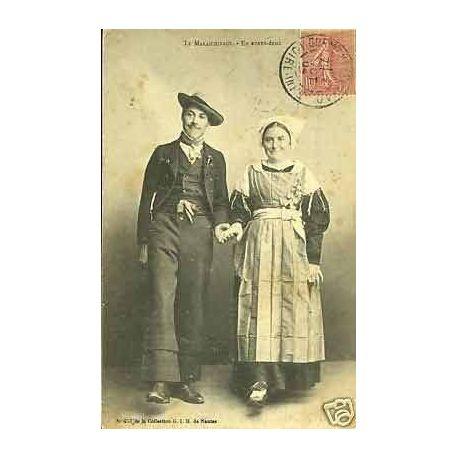 Carte postale 44 - Le Maraichinage - En avant deux