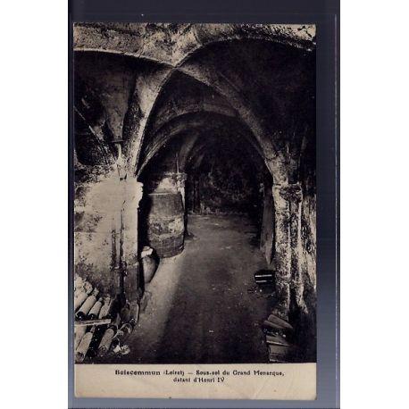Carte postale 45 - Boiscommun - Sous-sol du Grand Monarque datant d' Henri IV - Voyage - ...