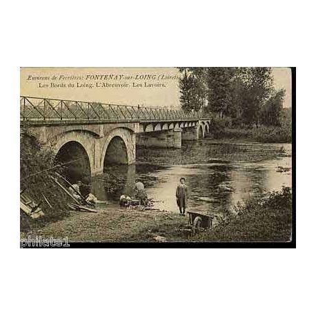 45 - Env. de Ferriers - Fontenay sur Loing - Lavoirs