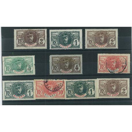 Kolumbien - 10 verschiedene Briefmarken