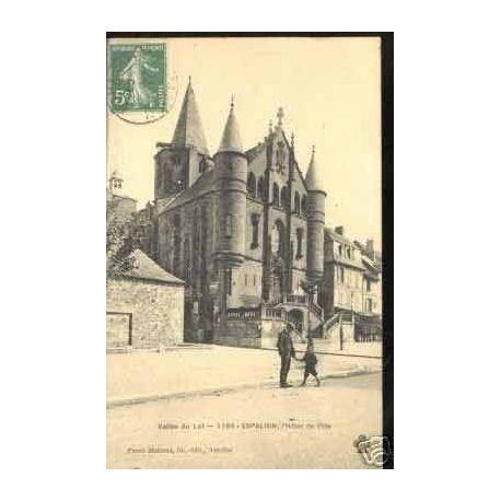 Carte postale 46 - ESPAILLON - L'HOTEL DE VILLE