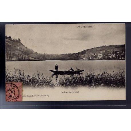 Carte postale 46 - Le Lac de Menet - Voyage - Dos divise...