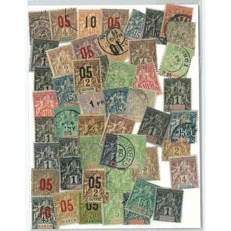 Colombie - 50 timbres différents