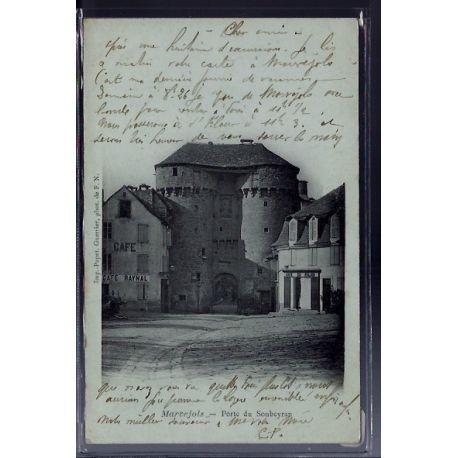 48 - Marvejols - Porte du Soubeyran - Voyage - Dos non divise...
