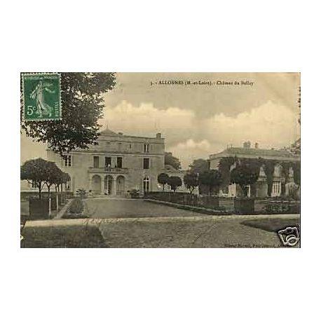 Carte postale 49 - Allonnes - Chateau du Bellay