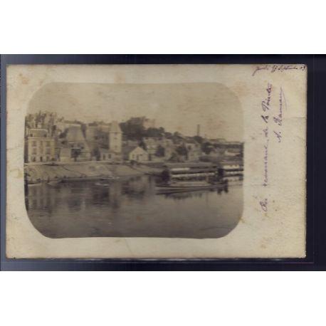 Carte postale 49 - Angers - Vue sur la Loire - Voyage - Dos non divise...