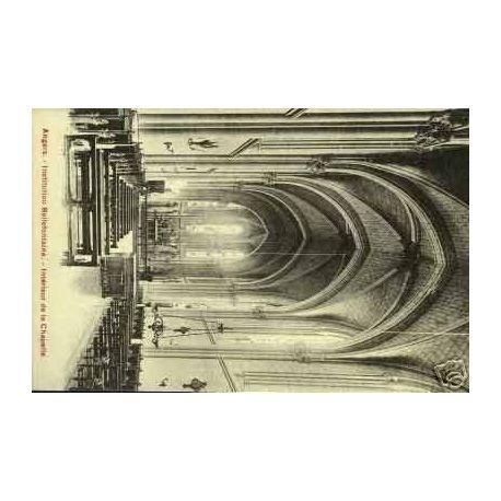 Carte postale 49 - ANGERS - BELLEFONTAINE - INTERIEUR DE LA CHAPELLE