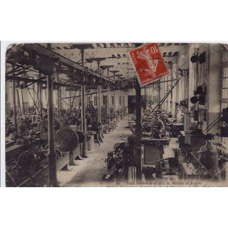 Carte postale 49 - Angers - Ecole nationale d'Arts et Metiers d'Angers - Atelier d'ajustage,