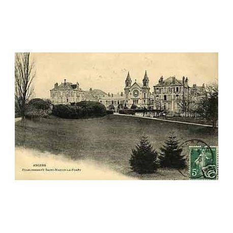 Carte postale 49 - Angers - Etablissement Saint-Martin la Foret