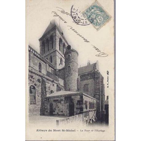 50 - Abbaye du Mt St Michel - Tour de l'Horloge
