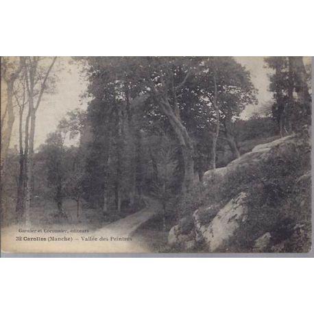Carte postale 50 - Carolles - Vallee des peintres