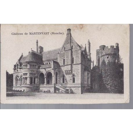 Carte postale 50 - Chateau de Martinvast