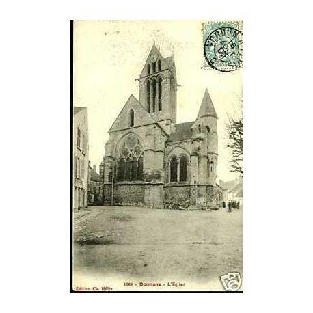 Carte postale 51 - Dormans - L'Eglise