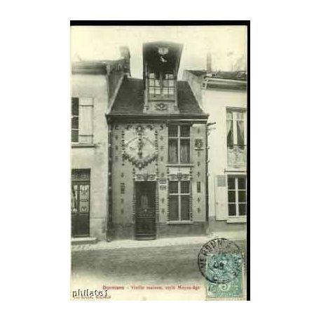 Carte postale 51 - DORMANS - VIEILLE MAISON DE STYLE MOYEN-AGE
