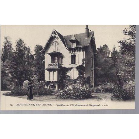 Carte postale 52 - Bourbonne - Pavillon l'etablissement Maynard