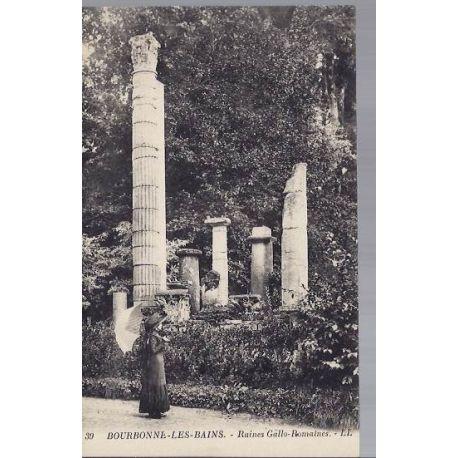 Carte postale 52 - Bourbonne les Bains - Ruines Gallo-romaines