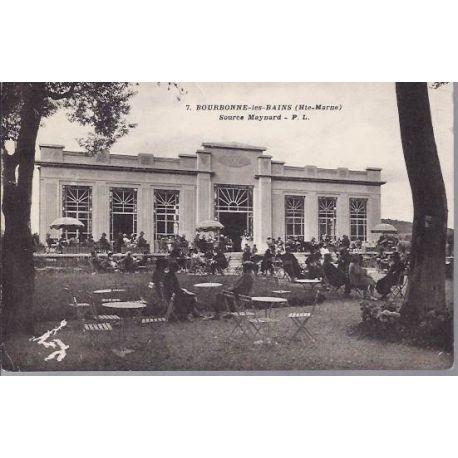 Carte postale 52 - Bourbonne les Bains - Source Maynard