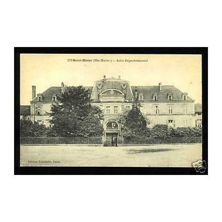 Carte postale 52 - Saint-Dizier - Asile departemental