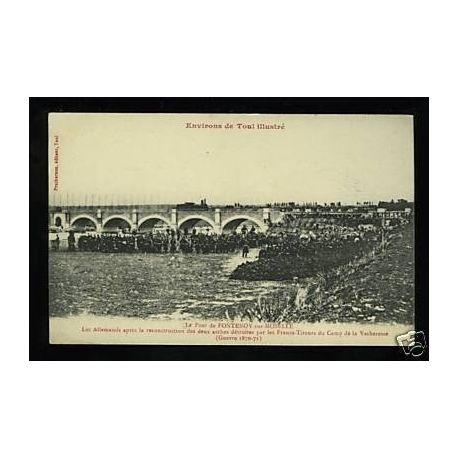 54 - Env. de Toul illustre - Le pont de Fontenoy