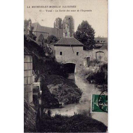 54 - La Meurthe et Moselle - La sortie des eaux de l'Ingressin - Voyage - Dos