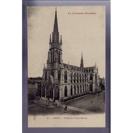 54 - Nancy - Basilique Saint-Epvre - Non voyage - Dos divise