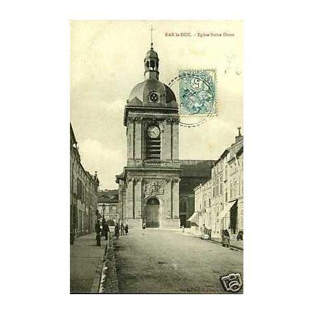 Carte postale 55 - Bar le duc - Eglise Notre Dame