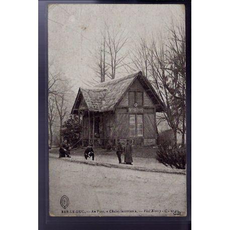 """Carte postale 55 - Bar-le-Duc - Au parc Chalet forstier"""" - Voyage - Dos divise"""""""""""""""