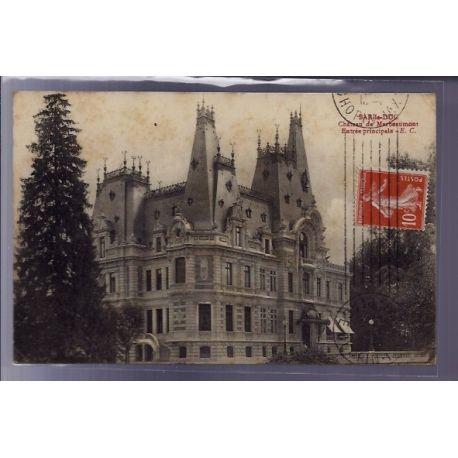 Carte postale 55 - Bar-le-Duc - Chateau de Marbeaumont - entree principale - Voyage - Dos d