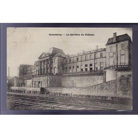 Carte postale 55 - Commercy - Le derriere du chateau - Voyage - Dos divise