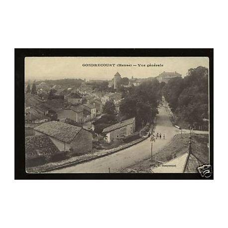 Carte postale 55 - Gondrecourt - Vue generale