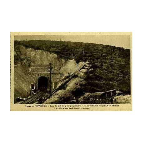 Carte postale 55 - TUNNEL DE TAVANNES - LIEU TRAGIQUE DU 4 Sept. 1916