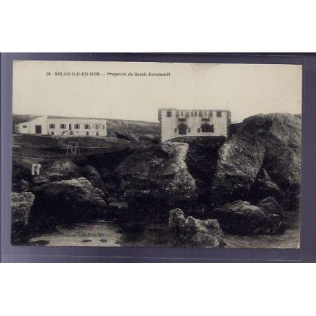 56 - Belle-Ile-en-Mer - Propriete de Sarah Bernhardt - Non voyage - Dos divis