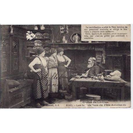 56 - Contes du lits-clos - Les tribulations du pere Antoine - Voyage - Dos div
