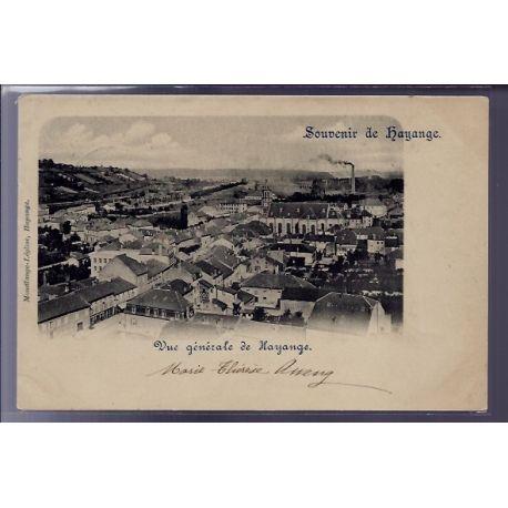 """Carte postale 57 - Hayange - carte souvenir de Hayange"""" - Vue generale de Hayange - Voyag"""""""""""""""