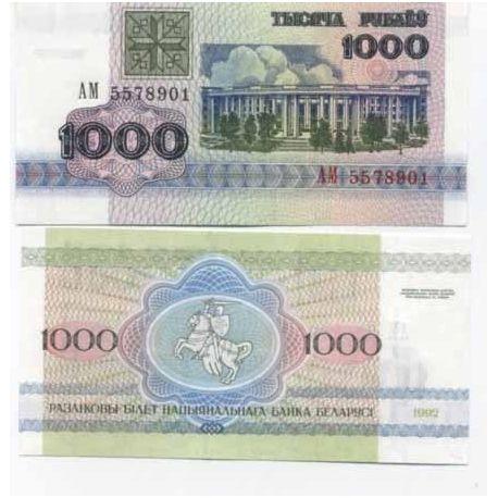 Belarus - Pk n ° 11-1000 Rublei ticket