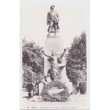 Carte postale 57 - Metz - Monument du Poilu