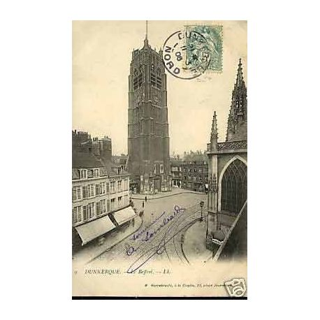 Carte postale 59 - Dunkerque - Le Beffroi