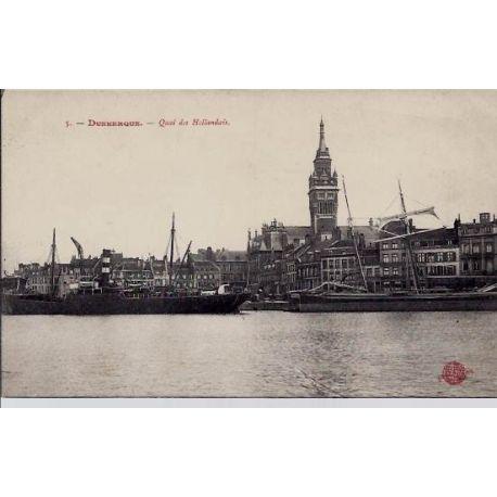59 - Dunkerque - Quai des Hollandais - Non voyage - Dos divise