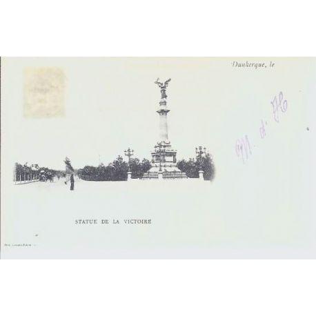 Carte postale 59 - Dunkerque - Statue de la victoire
