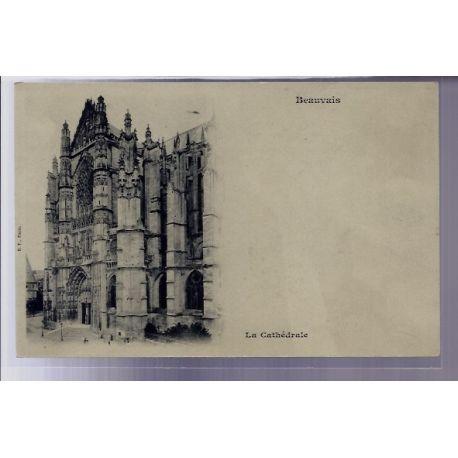 Carte postale 60 - Beauvais - La Cathedrale - Non voyage - Dos non divise