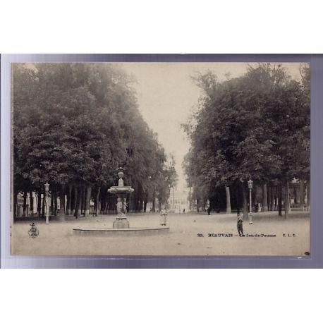 Carte postale 60 - Beauvais - Le jeu de Paume - Non voyage - Dos non divise