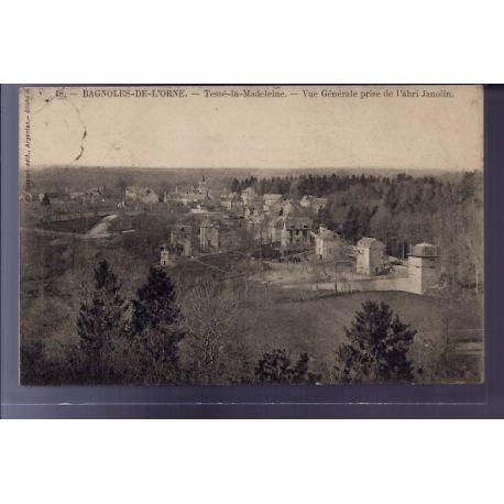 Carte postale 61 - Bagnoles-de-l'Orne - Tesse-la-Madeleine - vue generale prise de l'abri J