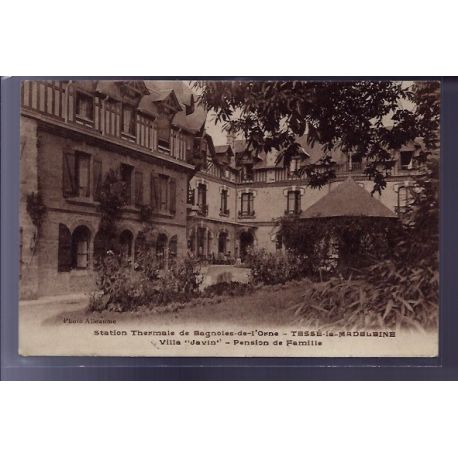 Carte postale 61 - Tesse-la-Madeleine- station thermale de  Bagnoles-de-l'Orne - Villa Javi