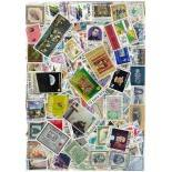 Sammlung gestempelter Briefmarken Costa Rica